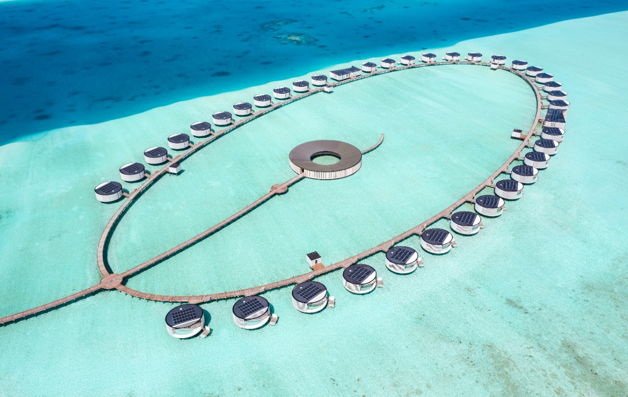 Spa комплекс The Ritz-Carlton Maldives, Fari Island!